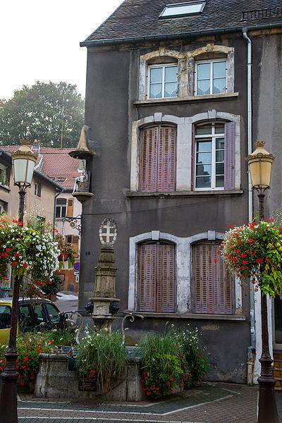 Immeuble sis 38 rue Poincaré à Saint-Avold