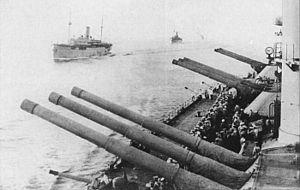 "Obukhovskii 12""/52 Pattern 1907 gun - Image: Imperatritsa Ekaterina Velikaya 1915 1917gun"
