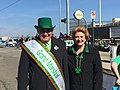 In Corktown with Grand Marshall of Detroit's 2015 St. Patrick's Day Parade. (16854264171).jpg
