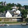 In Koblenz-Ehrenbreitstein befindet sich – hier nicht sichtbar - das Mutter-Beethoven-Haus, das Geburtshaus von Maria Magdalena Keverich. - panoramio.jpg