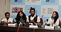 India's New Film makers Resul Pookutty, (Academy Award Winner), Aishwarya Dhanush (Director of '3'), Gauri Shinde, Director of 'English Vinglish' and Onir, Writer & Director, at a press conference.jpg