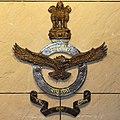 Indian Air Force logo at National War Memorial.jpg