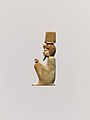 Inlay depicting the squatting god Anhur (Onuris) MET DP239681.jpg