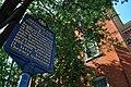Institute for Colored Youth Building Historical Marker 915 Bainbridge St Philadelphia PA (DSC 2640).jpg