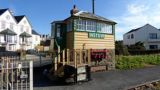 Instow - Instow Signal Box