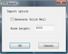 InteriCADT6 Define whether to generate solid wall and the height of the room..png