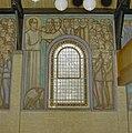 Interieur, muurschildering van Evangelist Johannes - Leiden - 20338200 - RCE.jpg