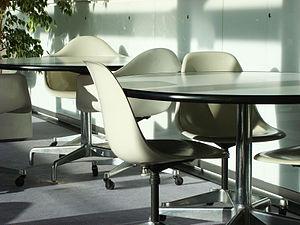 Eames Fiberglass Armchair - Image: Interior 8 School of World Art Studies UEA UK