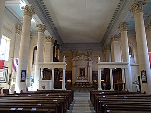 St Paul's Pro-Cathedral - Interior of the Cathedral