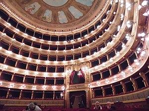 Teatro Massimo - Interior view of the Teatro Massimo