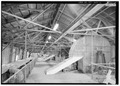 Interior view, top level, looking south. - Great Northern Elevator, 250 Ganson Street, Buffalo, Erie County, NY HAER NY,15-BUF,32-6.tif