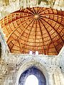 Interior view of the Ummayad Palace Dome in Amman.jpg