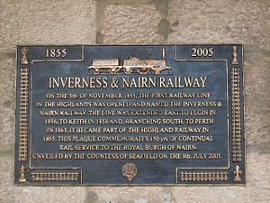 Inverness and Nairn Railway - Image: Inverness Nairn Railway