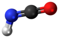 Isocyanic acid 3D ball.png