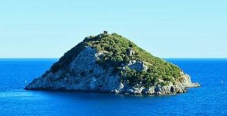 Bergeggi (island) - Image: Isola di Bergeggi