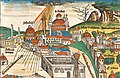 Istanbul during the great storm of July 1490 (upper half of the illustration).jpg