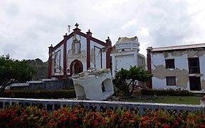 Itbayat Church 2019 earthquake.jpg