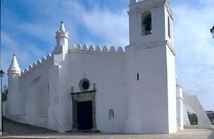 Islam in Portugal - Old Mosque in Mértola. Converted into a church
