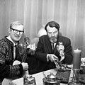 Ivar Medaas og Norvald Tveit i Alversund (1969).jpg