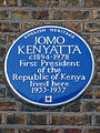 JOMO KENYATTA c1894-1978 First President of the Republic of Kenya lived here 1933-1937.jpg