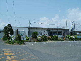 Takahama Station (Ibaraki) Railway station in Ishioka, Ibaraki Prefecture, Japan