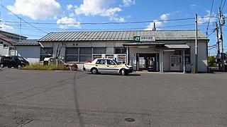 Asaka-Nagamori Station Railway station in Kōriyama, Fukushima Prefecture, Japan