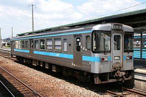 JR Shikoku 1000 series - Car number 1001, July 2008