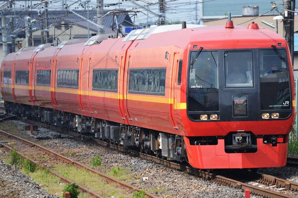 JR East 253-1000 OM-N01 Nikko 1go 20110604