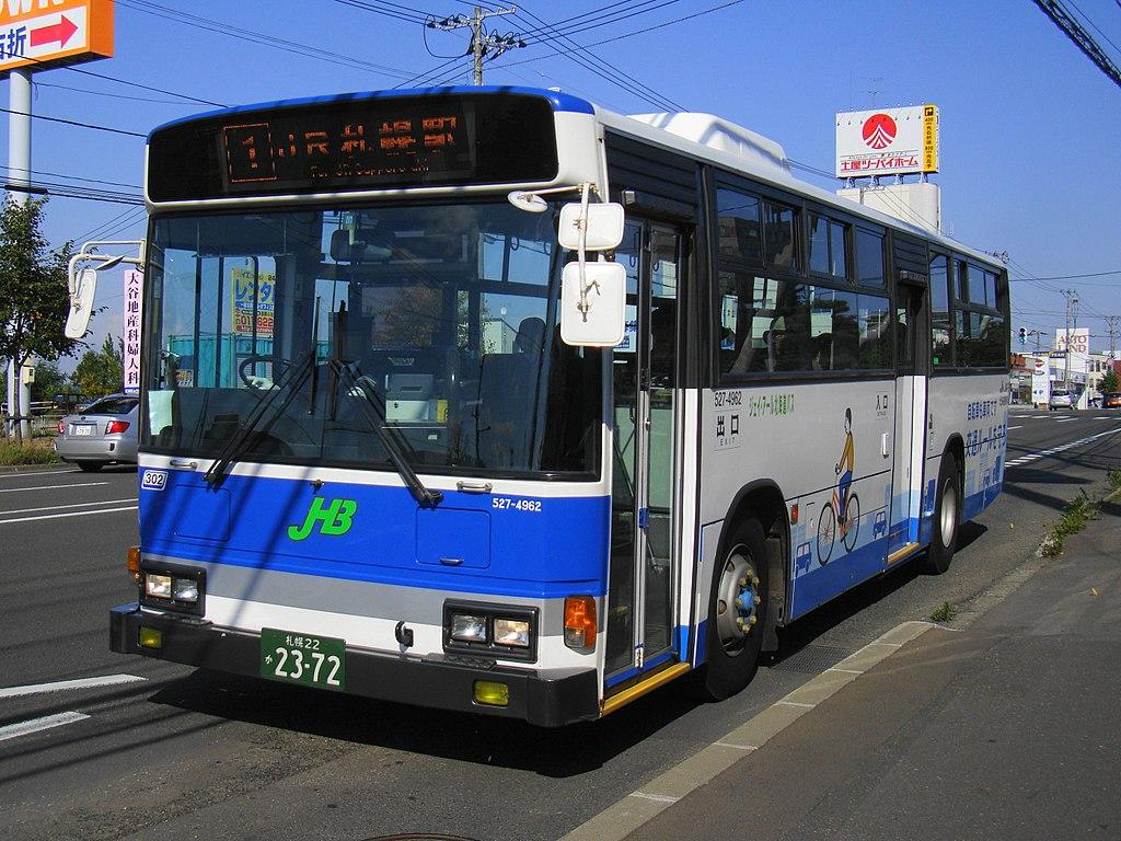 JR Hokkaidō bus S022F 2372