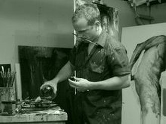 Jason Shawn Alexander - Alexander at work in his Los Angeles studio