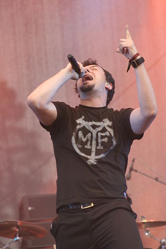 Pitchshifter - Vocalist JS Clayden in June 2008