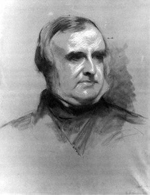 Samuel Laurence - A portrait of Jacob Omnium by Laurence