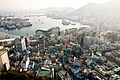 Jagalchi Market and the area around as seen from Yongdusan Tower.jpg