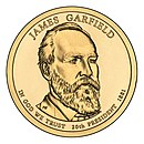 James A. Garfield – Dollar