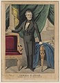 James K. Polk-President elect of the United States - lith. & pub. by N. Currier. LCCN98507793.jpg