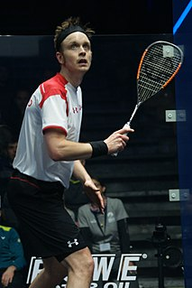 James Willstrop British squash player