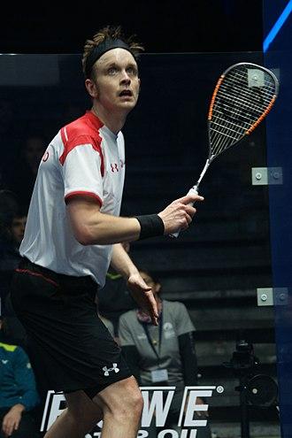 James Willstrop - James Willstrop at the 2017 Men's World Team Squash Championships