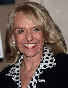 Jan Brewer, campaign rally August 2014 (cropped).jpg