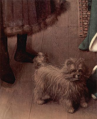 Cultural depictions of the dog - Detail of the dog