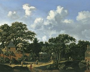 Jan van der Heyden - Crossroad in a Wood