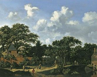 Jan van der Heyden - Crossroad in a Wood