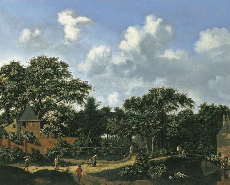 File:Jan van der Heyden - Crossroad in a Wood.jpg