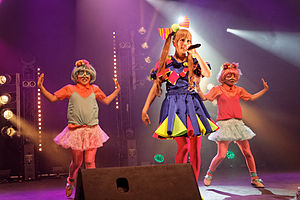 Kyary Pamyu Pamyu - Kyary Pamyu Pamyu performing at Japan Expo in 2012