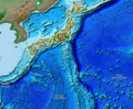 Japan Relief Map of Land and Seabed.png
