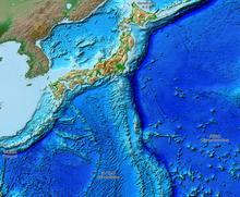 Japan Karte Physisch.Geographie Japans Wikipedia