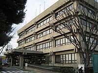 Japanese,Saitama prefecture, warabi city office..JPG