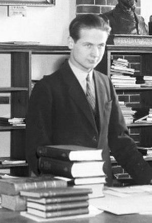 Gunnar Jarring - Gunnar Jarring, 1933.