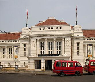 Eduard Cuypers - De Javasche Bank now Museum Bank Indonesia, Jakarta.