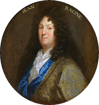 Jean Racine - Portrait of Racine