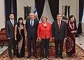 Jefa de Estado recibió las cartas credenciales de los nuevos embajadores en Chile de Vietnam, República Checa, Ecuador, Japón, Hungría, Bélgica y Panamá (15693202069).jpg